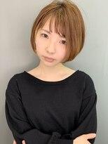 ラウンジ モリオ イケブクロ(Lounge MORIO Ikebukuro)【morio池袋】可愛い前下がり透け感ショートボブ♪