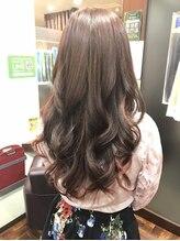 レヴェリーヘア(Reverie hair)ゆるふわ甘目のロングスタイル
