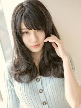 アグ ヘアー ライム 姶良店(Agu hair lime)暗髪ロング×ニュアンスウェーブ