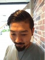 ヘアメイク オブジェ(hair make objet)外国人風 バーバースタイル