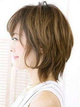ヴェリーヘアメイク(VERY Hair Make)の写真/360°どこから見ても美しいシルエットのStyleを実現!!アナタだけの最高のショートStyleをご提案致します♪