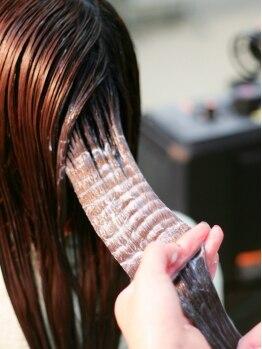 """ドゥアージュ(Deux Age)の写真/本物を求める方に…""""髪本来の美しさを取り戻したい""""そんな願いを叶える極上トリートメント《ナノリペア》"""