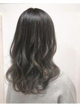 ジゼル(GiseL)グレージュグラデーションカラー天神大名/髪質改善/ダブルカラー