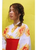 neolive terrace 仙川 浴衣ヘアメイク¥10260