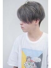 リジョイスヘア(REJOICE hair)【REJOICE hair】前下がり2ブロックスタイル グレイジュ
