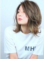 ヘアメイクエシェル 野々市店(Hair Make e‐shell)伸ばし中でも決まる!!外ハネレイヤースタイル☆