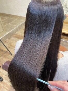 フルール(Fleur)の写真/髪質でお悩みの方必見!【髪質改善サロン】で髪のダメージや髪質のコンプレックスを解消しませんか?