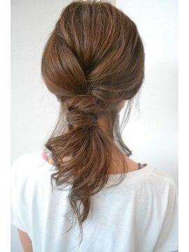 ヘアークリエイト ミリ(hair create mm)ノットアップ BY渡辺