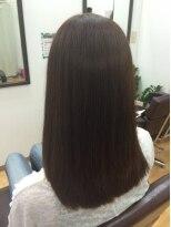 ヘアサロン シュシュ(Hair salon Chou chou)ミディアムストレート