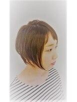 ジャムヴィーボ(Hair Make JAM Vivo)ユル艶ショートボブ