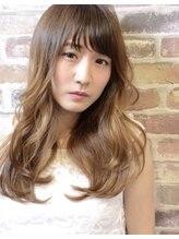 イースタイル 豊田四郷店(e-style)顔周りレイヤー+ Aラインシルエットの重軽セミロング