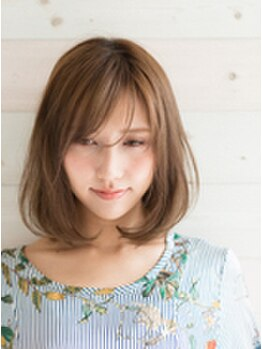 ソハナヘアー(SOHANA hair)の写真/柔らかな手触りで水々しい潤いを与える 『アクア縮毛矯正』♪触れたくなる憧れのサラサラヘアーに☆