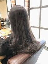 5/デジタルパーマ/ヌーディーカラー/グラマラスカール/小顔/栗原