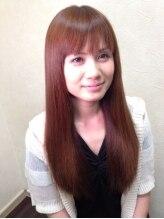 美容室 スピリチュアル ハート(SPIRITUAL HEART)ビーワン艶ピンク