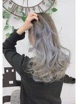 ヘアーサロン エール 原宿(hair salon ailes)(ailes 原宿)style424 ホワイトパールグラデーション