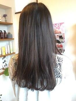 """ツムギ(tsumugi HAIR DESIGN)の写真/ありのままの美しさに…髪本来の美しさに導き、思わず触れたくなるような""""サラツヤ髪""""を叶えます♪"""