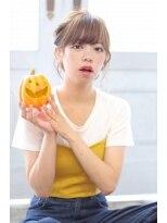 アルベロ(albero)☆ハロウィンヘアアレンジ☆ボブでもルーズアップスタイルに。