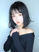 【morio池袋】2018年春夏流行る髪型透けバング小顔ボブ