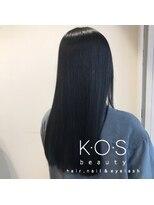ケーオーエスビューティー(K O S beauty)ブルーブラックカラー