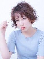 ペルシュ(perche)ゆるふわショートボブ☆外ハネver
