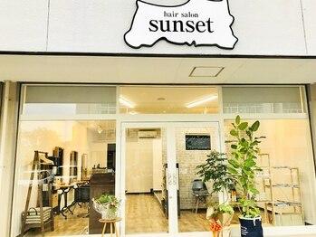 """サンセット(sunset)の写真/プライベート空間で""""一人ひとりの時間を大事に""""。白を基調とした店内で日常を忘れて癒しのサロンtimeを♪"""