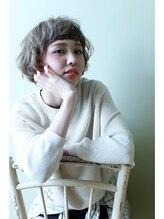 メルシ(merci)mint beige short bob