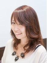 ヘアーメイク アキラ(HAIR MAKE Akira)パッと目を引くおしゃ顔スタイル