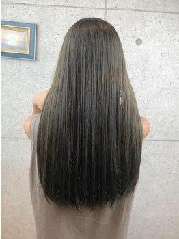 リノ(Lino)の写真/全国で限られたお店でのみ取り扱えるOggiottoトリートメント!髪の内側から栄養を入れるので毛先まで潤う!!