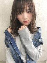 ルノン(LUNON)【 LUNON 】抜け感×縦ウェーブMIDI