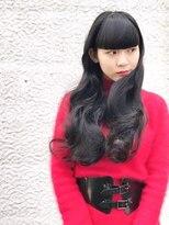 ブロック(bloc)ガーリー×モード×ブラックヘア・暗髪・ツヤ感