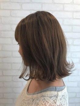 ルーチェ(luce)の写真/高いカット技術で髪質・骨格・ライフスタイルを考慮し、ご自宅でも再現しやすいスタイルを提案。