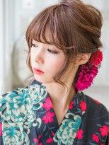 ピノ ウメダ(Pinot UMEDA)大人女子☆浴衣クラシカルヘアセット