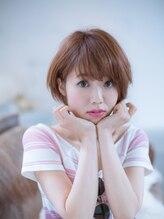 美容室 リズヘアー 稲毛店(Riz hair)小顔ショートスタイル