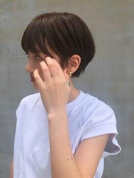 シキ(SIKI)の写真/【福島】大人女性の上品スタイルもお任せ★技術に差が出るショートスタイルも≪SIKI≫なら思いのまま♪