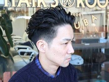ヘアーズ ルーツ つくば店(Hair's Roots)の写真/【つくばで床屋さんをお探しの方☆】当店は、清潔感のある店内で皆さんのご来店をお待ちしております!