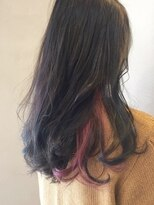 インナーカラー×ピンク