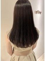 ラフィネ(raffine)秋色チョコレートカラー艶髪ロングスタイル★raffine中村大輔