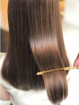 インセンス(insence yamashita)の写真/《やわらかい髪へ導く》柔らかくしなやかな髪に。お客様に合わせた薬剤でナチュラルな仕上がりに♪