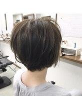 ヘアクリエイト エクセル美容室(Hair Create EXCEL)頭の形がキレイに見えるショートボブ