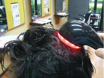 美容室 サクモト(SAKUMOTO)の写真/頭皮を清潔に保って、ハリ・コシをアップ!!年を重ねるごとに気になる髪の悩みをヘッドスパでサポート!