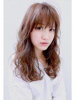 バッテリー ヘアアンドメイク 塚口店(Battery hair&make)ゆるウェ-ブロング