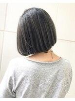 バンクスヘアー(BANK'S HAIR)グレーハイライト
