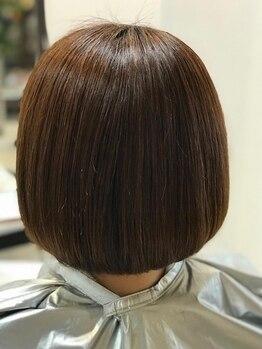 ギフトイロドリヘアー(Gift. irodori hair)の写真/お客様1人ひとりのダメージに対応したトリートメントをご提案!思わず触りたくなるしっとりサラサラ髪に♪