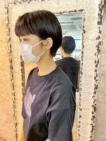 マギーヘア(magiy hair)magiyhair【nico】マッシュショート 前髪短め