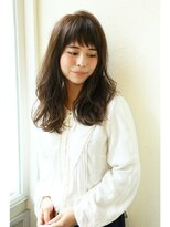 【Un ami】大人かわいい・小顔ナチュラルミディー 松井 幸裕