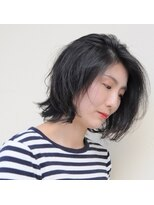 ヘアーメイクプレアー 飯塚店(HAIR MAKE PRAYER)大人女性のナチュラルボブディ