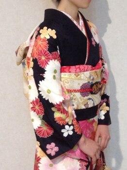 美容室 サクモト(SAKUMOTO)の写真/<春日井/高蔵寺>成人式・卒業式・お正月・七五三などの晴れ舞台に!特別な1日を特別な姿で…♪