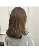 ヘアメイクミワ(HAIR+MAKE MIWA) milk beige