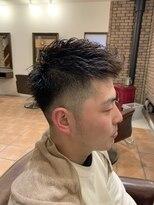 フェードカット短髪