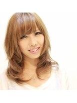 ヘアーリゾート ラヴィニール 新宿東口店(Hair Resort L´avenir)キュートセミディ 【新宿】